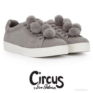 🆕 Circus by Sam Edelman Carmela Pompom Sneakers